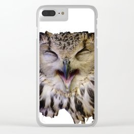 Owlie Clear iPhone Case