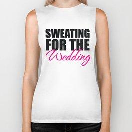Sweating for the Wedding Biker Tank