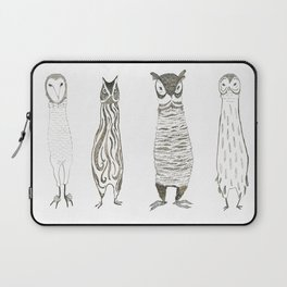 Owl About Owls Laptop Sleeve
