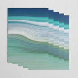OCEAN ABSTRACT Wrapping Paper