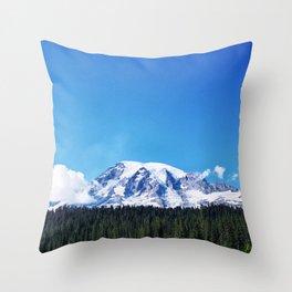 Mount Rainier, Washington Throw Pillow