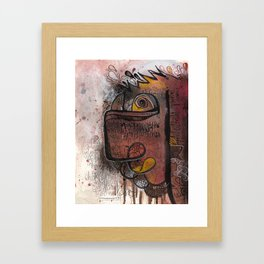 Cluster 1021 Framed Art Print