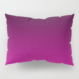 Black and Magenta Gradient Pillow Sham