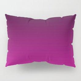 Black and Magenta Gradient Pillow Sham