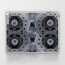 Fractal Art - spaceship drive Laptop & iPad Skin