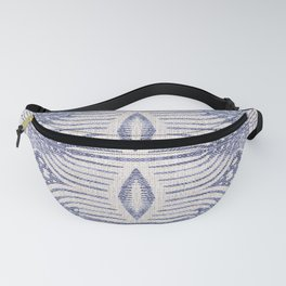 FRENCH LINEN TRIBAL IKAT Fanny Pack