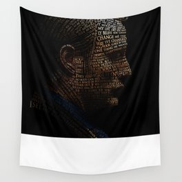 Hannibal Typography Wall Tapestry