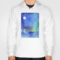 northern lights Hoodies featuring Northern Lights by Ricardo Moody