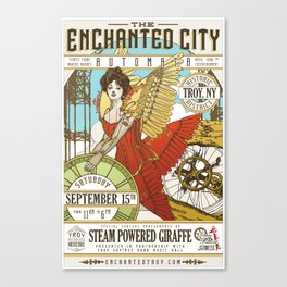 The Enchanted City Poster 2018 Canvas Print