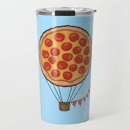 Pizza Hot Air Balloon Travel Mug