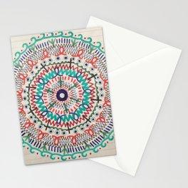 Pin Wheel Mandala Stationery Cards