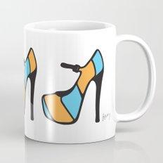 High Heel Parade - Blue & Orange Mug