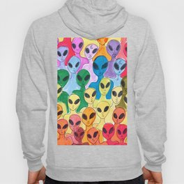 alien rainbow Hoody