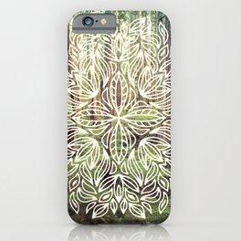 Mandala Vintage Forest Path iPhone Case