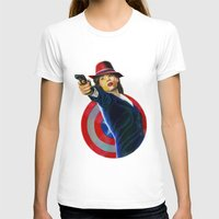 peggy carter T-shirts featuring Peggy Carter by Farah Jayden