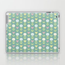 Flower pattern Laptop & iPad Skin