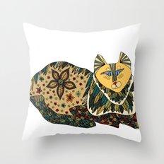 Your Cat Throw Pillow