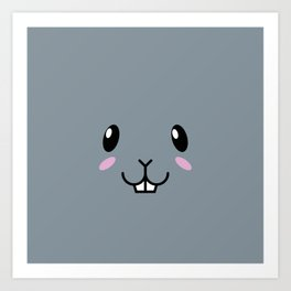 Baby Bunny. Kids & Puppies Art Print