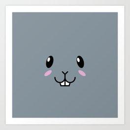 Baby Bunny. Kids & Puppies Art Print