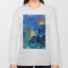 Views of Rainbow Coral, Tiny World Collection Long Sleeve T-shirt