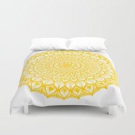 Sand Dollar-Yellow Duvet Cover