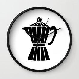 Moka Pot Wall Clock