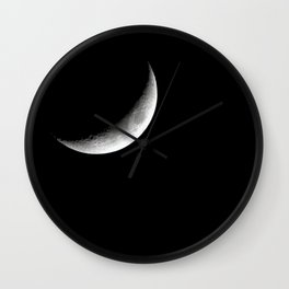 Crescent. Wall Clock