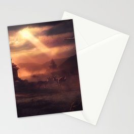 The Red In The Sky Is Ours Stationery Cards