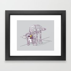 Not quite a fire hydrant Framed Art Print