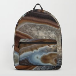 Mocha swirl Agate Backpack