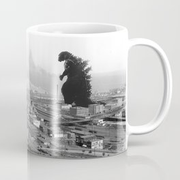 Old Time Godzilla Coffee Mug