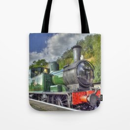 Steam Train at Bewdley Tote Bag