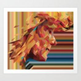 Geo II Art Print