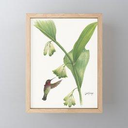 Tiny King of Solomon Framed Mini Art Print