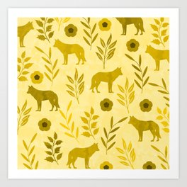 Forest Animal and Nature III Art Print