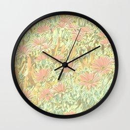 Floral Joy 3195B Wall Clock
