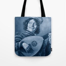 """Frans Hals """"The Lute Player"""" Tote Bag"""