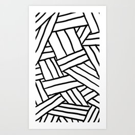 Raw Pattern Series: n.1 Art Print