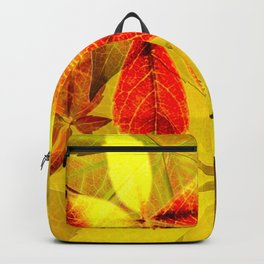 Virginia Creeper autumn colors Backpack