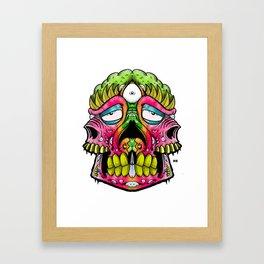 pinky stinky Framed Art Print