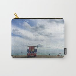 Miami Beach Lifeguard Tower Carry-All Pouch