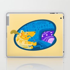 Space dog the avenger Laptop & iPad Skin