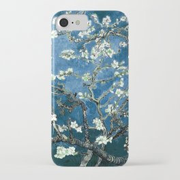 Van Gogh Almond Blossoms : Ocean Blue iPhone Case