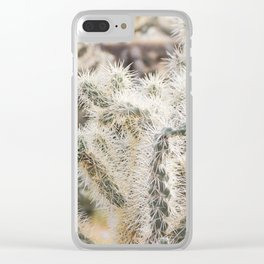 Sonoran Cactus Clear iPhone Case