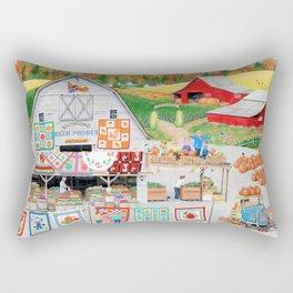 Autumn Quilts Rectangular Pillow