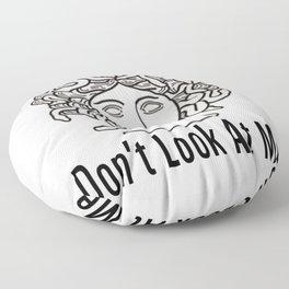 Medusa- Don't Look At me Floor Pillow
