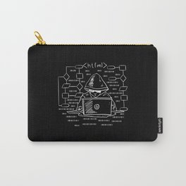 htfml | Programmer Admin Debugging Carry-All Pouch