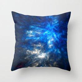magical galaxy Throw Pillow