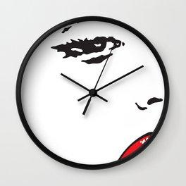 Marilyn 1 Wall Clock