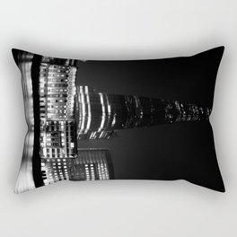 The shard in Monochrome Rectangular Pillow